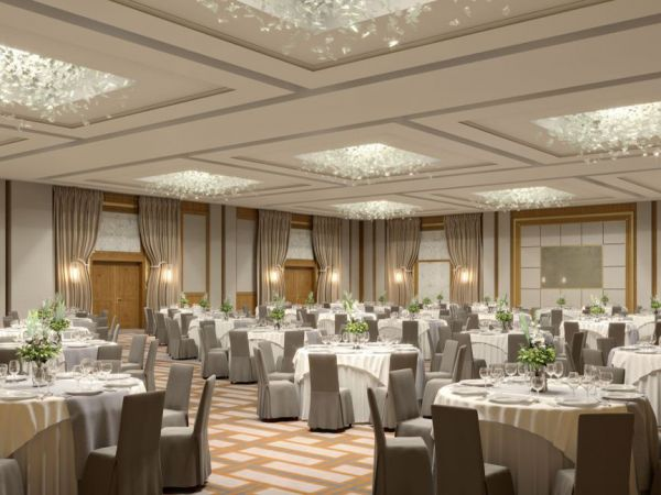 The New Ballroom of Hilton Budapest